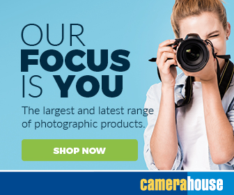 Visit the Camera House for all your photography needs.