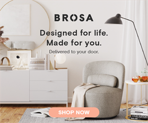 BROSA Furniture. Designed for life. Made for you.