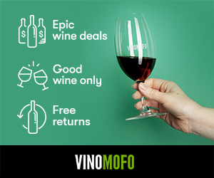 Ad linking to vinomofo wine seller