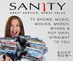 Shop at Sanity for DVDs, Blu-Rays, CDs & Merch!