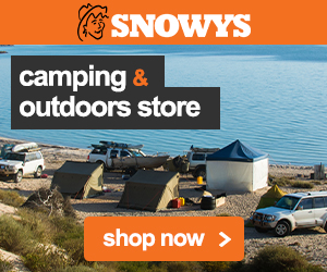Snowys stock a wide range of camping products.
