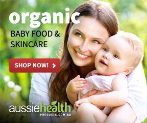 Publicidad de productos orgánicos para niños