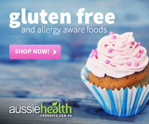 aussie heath products gluten free allergy
