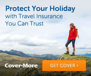 cover more travel insurance ad