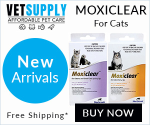 MOXICLEAR FOR CATS – FLEA, HEARTWORM & WORM PREVENTION TREATMENT