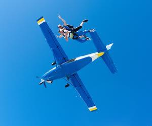 Sky diving deals
