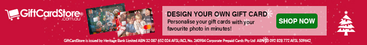 Christmas Gift Card: Personalised Gift Cards