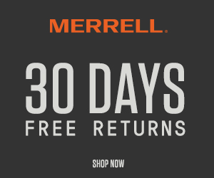 Merrell Ad Display Image