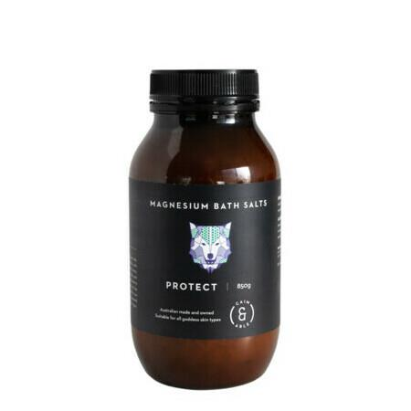 Image of Caim & Able PROTECT Magnesium Bath Salts - Lavender & Rosemary - 850g