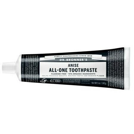 Image of Dr Bronner's All-One Toothpaste - Anise - 140g