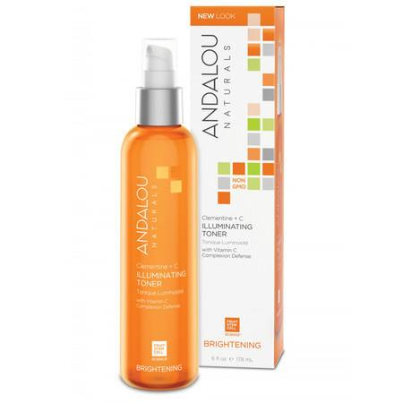 Image of Andalou Naturals Clementine + C Illuminating Toner - *Brightening* 178ml