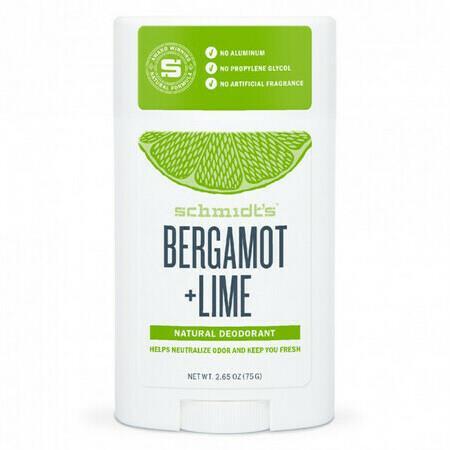 Image of Schmidt's Bergamot + Lime Deodorant Stick - 92g