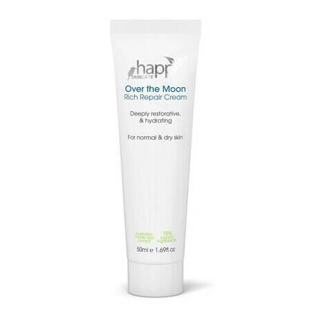 Image of Happy Skincare 'Over The Moon' Rich Repair Cream - 50ml