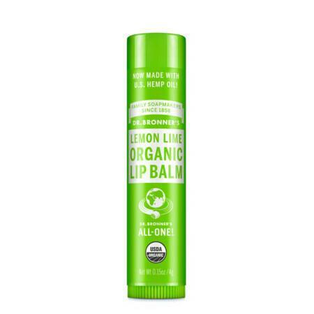 Image of Dr Bronner's Organic Lip Balm - Orange Ginger - 4g