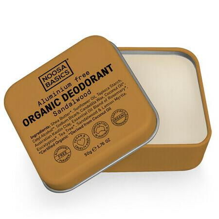 Image of Noosa Basics Deodorant Cream - Sandalwood - Jar 64g