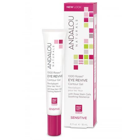 Image of Andalou Naturals 1000 Roses® Eye Revive Contour Gel - 18ml
