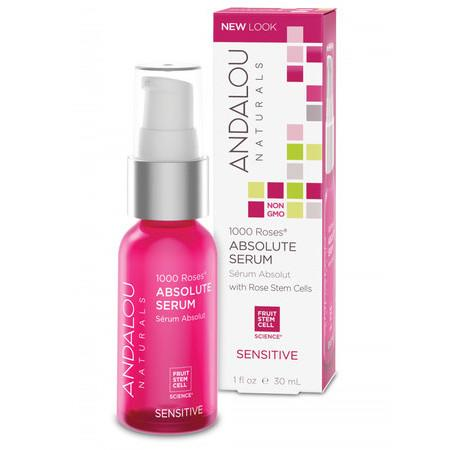 Image of Andalou Naturals 1000 Roses® Absolute Serum - 30ml