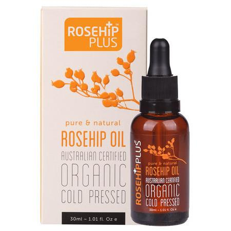 Image of RosehipPLUS™ Australian Certified Organic Rosehip Oil - *Small* 30ml
