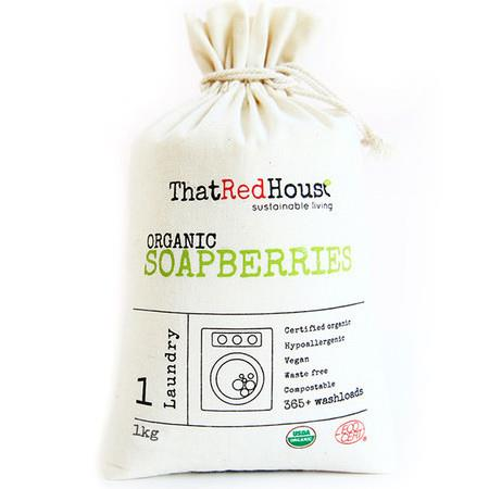 Image of That Red House Organic Soapberries - 1kg (365+ Washloads)