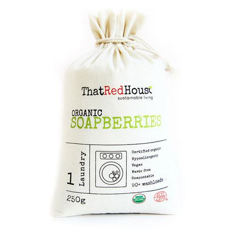 Image of That Red House Organic Soapberries - 250g (90+ Washloads)