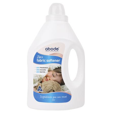 Image of Abode Fabric Softener Zero - Fragrance Free - 2 Litre