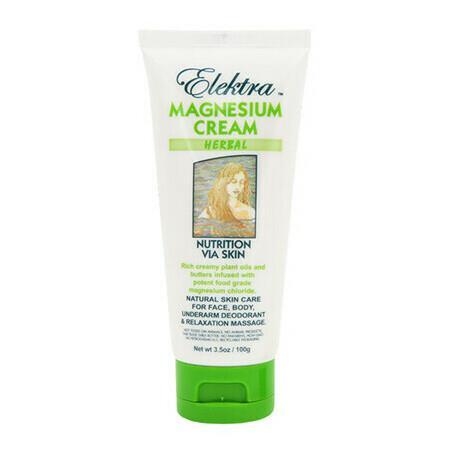 Image of Elektra Magnesium Cream - Herbal - 300g Tub