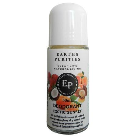 Image of Earths Purities Liquid Deodorant - Exotic Sunset - 50ml