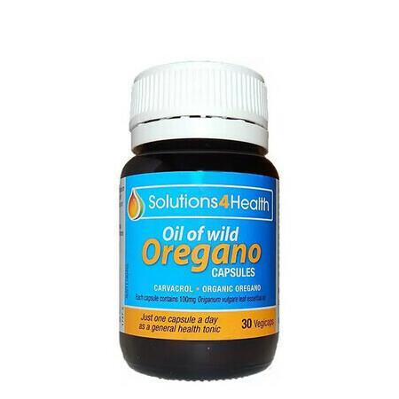 Image of Solutions 4 Health Oil of Wild Oregano Capsules - 30 Capsules