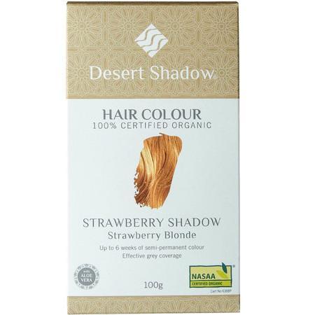 Image of Desert Shadow Organic Hair Dye - Strawberry Shadow - 100g