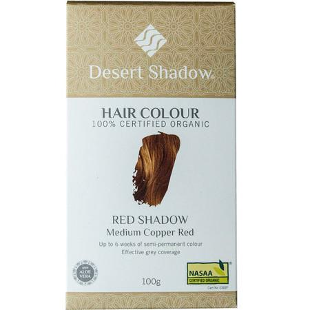 Image of Desert Shadow Organic Hair Dye - Red Shadow - 100g