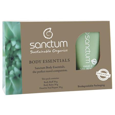 Image of Sanctum Body Essentials Trial / Travel Pack - 3 x 30ml