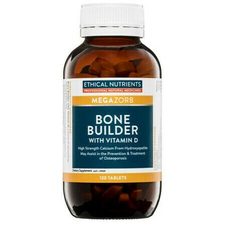 Image of Ethical Nutrients Bone Builder with Vitamin D - 60 Tablets