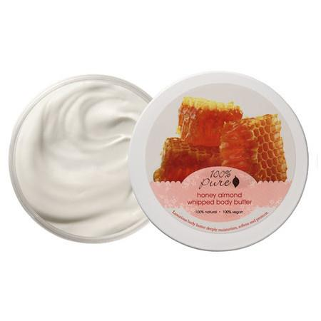 Image of 100% Pure Honey Almond Whipped Body Butter - 96g