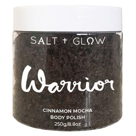 Salt + Glow Body Polish - Warrior (Cinnamon Mocha) - 350g