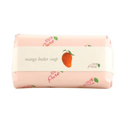 Image of 100% Pure Butter Soap - Mango - 127g Bar