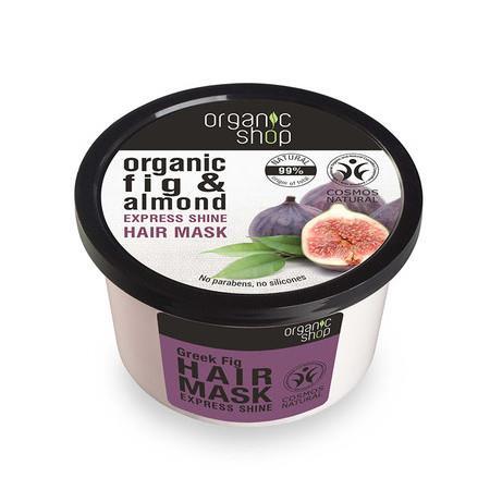 Image of Organic Shop Hair Mask - Organic Fig & Almond - 250ml