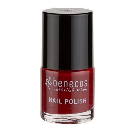 Image of Benecos Happy Nails Nail Polish - Cherry Red - 9ml