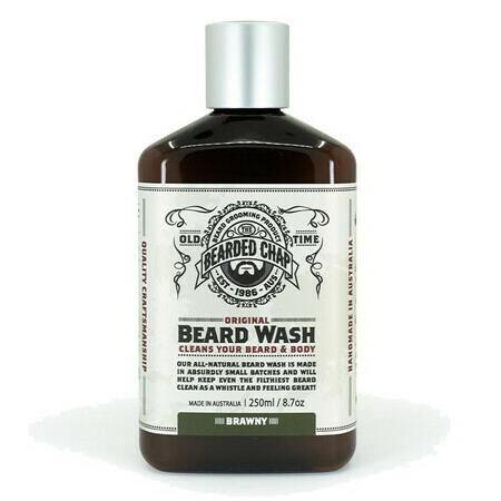 Image of The Bearded Chap - Beard Wash - Rugged - 375ml