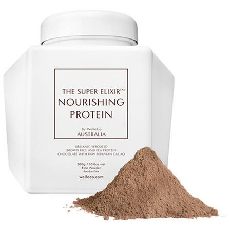 Image of WelleCo The Super Elixir Nourishing Protein - Chocolate - 300g Caddy