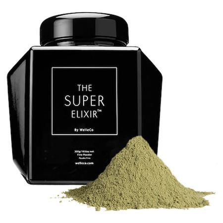 Image of WelleCo The Super Elixir Alkalising Greens - 300g Caddy