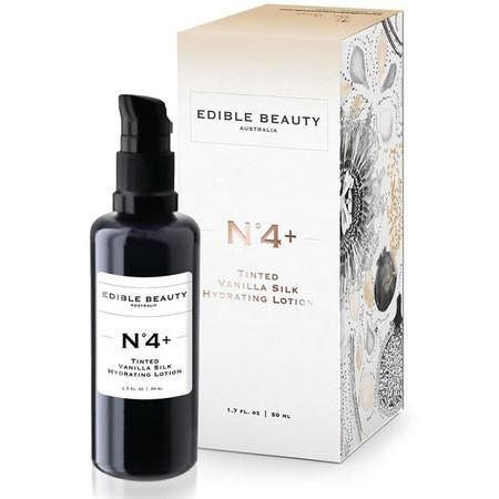 Image of Edible Beauty - No.4+ *Tinted* Vanilla Silk Hydrating Lotion - Tinted 50ml