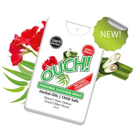 Image of Ouch! Herbal Insect Repellant - 20ml, 300+ Sprays