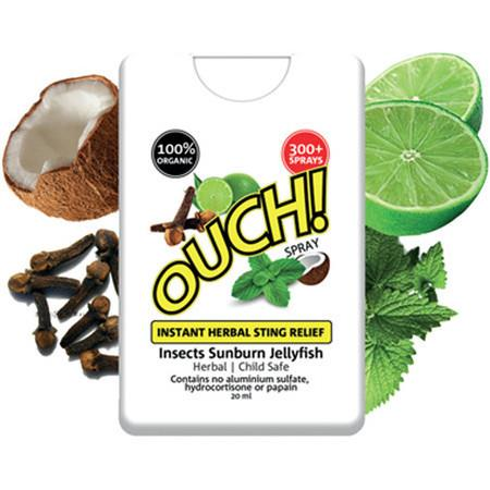 Image of Ouch! Instant Herbal Sting Relief - 20ml, 300+ Sprays