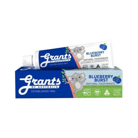 Image of Grants Blueberry Burst Kids Natural Toothpaste - 75g