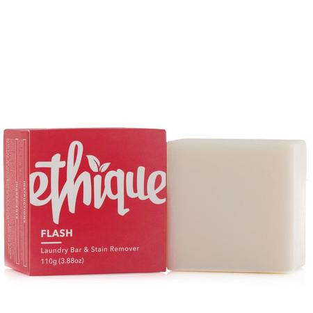 Image of Ethique Flash! Solid Laundry Bar & Stain Remover - 100g