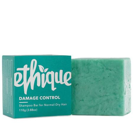Image of Ethique Damage Control - Shampoo for Normal-Dry Hair - 110g