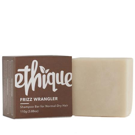 Image of Ethique Frizz Wrangler - Shampoo for Dry or Frizzy Hair - 110g