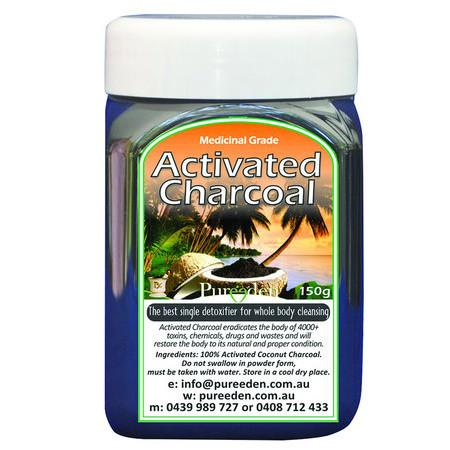 Image of Pure Eden Activated Charcoal - 150g *Medium*