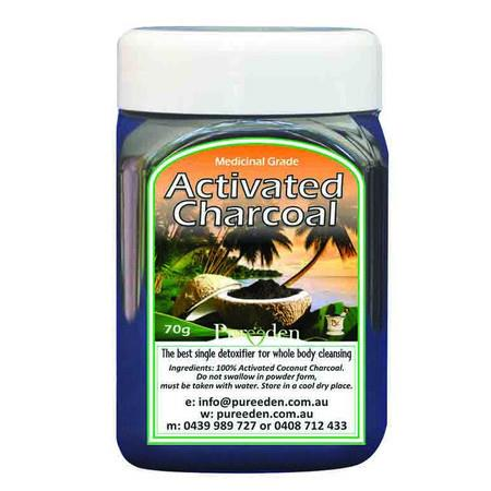 Image of Pure Eden Activated Charcoal - 70g *Small*
