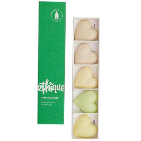Image of Ethique Hair Sampler - A Collection of Ethique Hair Products - 5 Item Pack